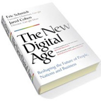 The new digital age - book cover