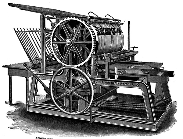 First generations of printing press - The first tools for mass production of longform content!
