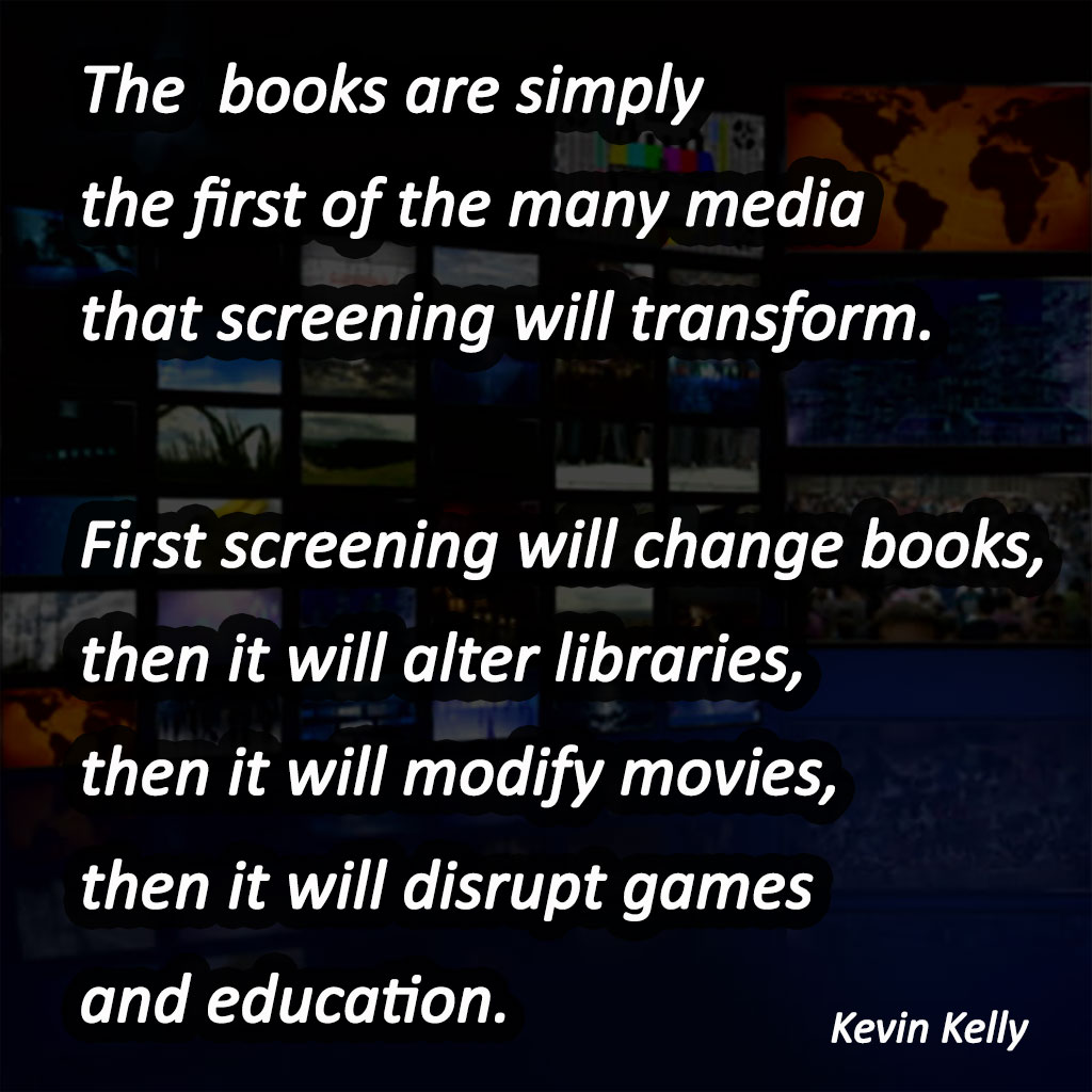 Screening is the new substitute for reading