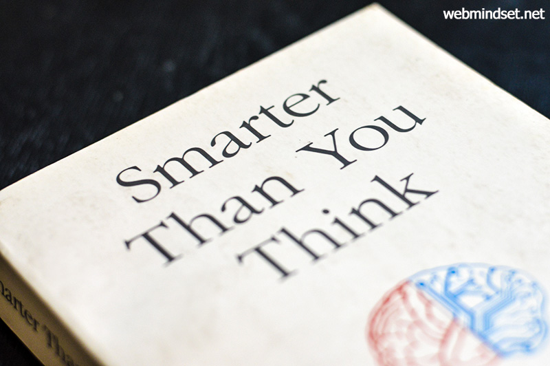 Smarter than you think - Clive Thompson - Book Cover Photo